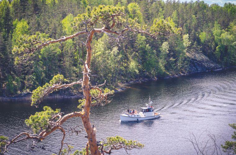 Pyörämatka Saimaa Geoparkin maisemiin