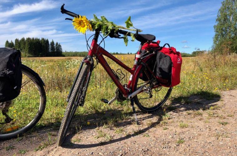 Pyöräillessä ehtii parhaiten havaitsemaan maiseman kauneuden
