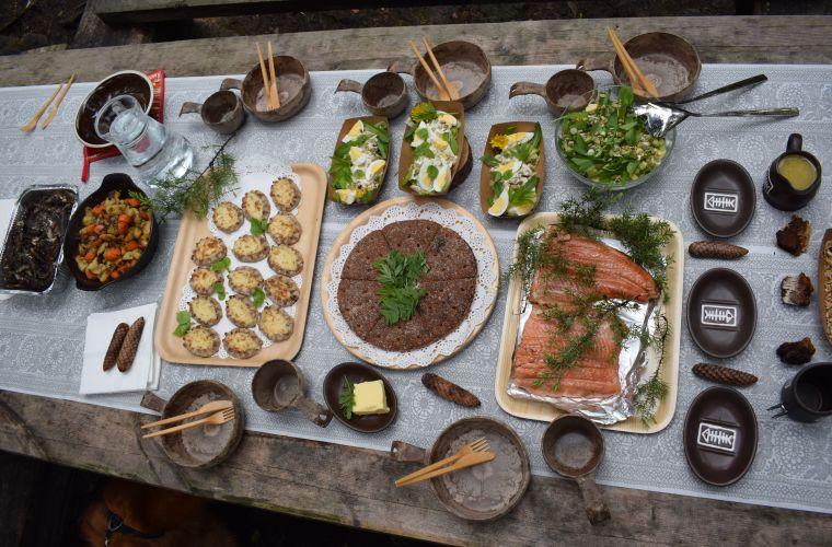 tyhypäivä ruoka, Imatra, Lappeenranta, retkievät
