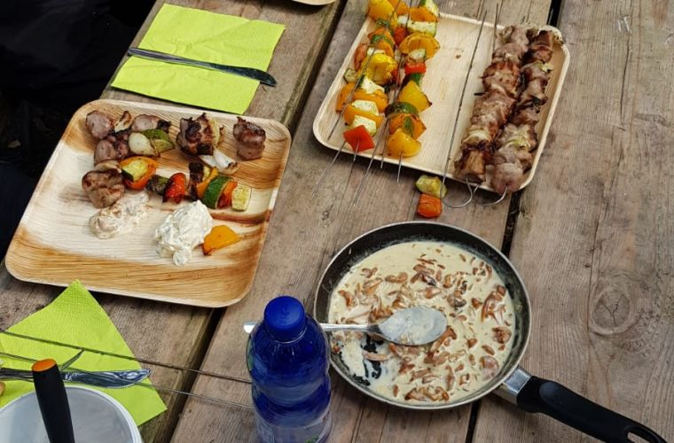 outdoor food, Imatra, Lappeenranta, open fire food